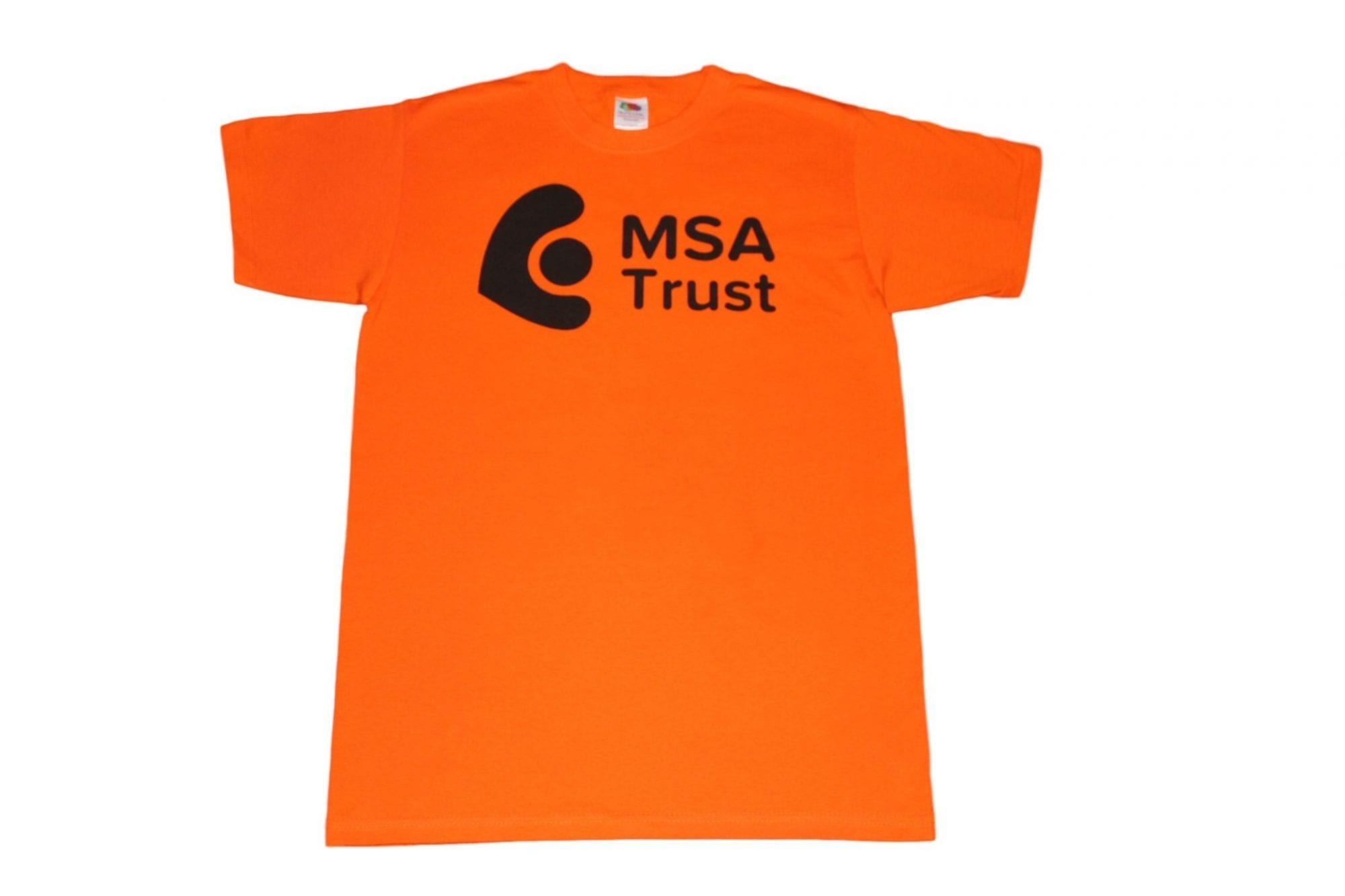 Fundraising T Shirt Multiple System Atrophy Trust